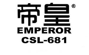 Emperor 681 slate logo