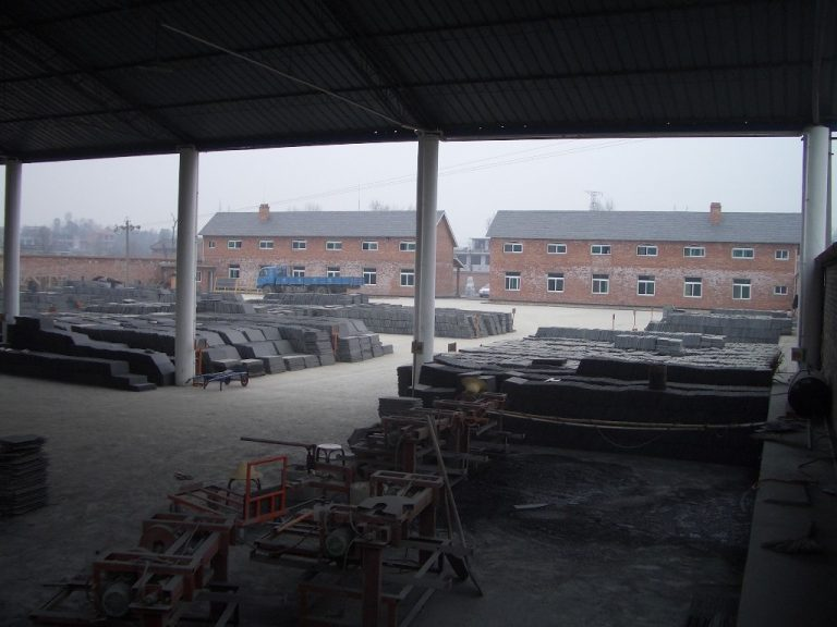 China slate yard in China