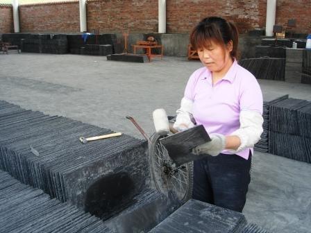 Quarry slate quality check