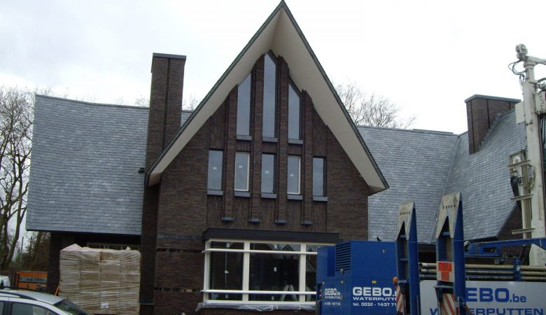688 Blue Empress slate roof contemporary house Netherlands 1