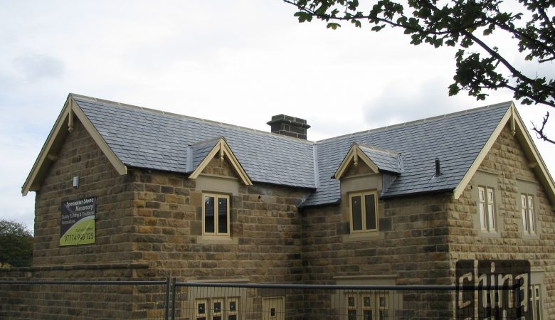 688 Blue Empress Chinese slate in Dronfield, England