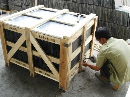 Marking slate crate for quality tracking