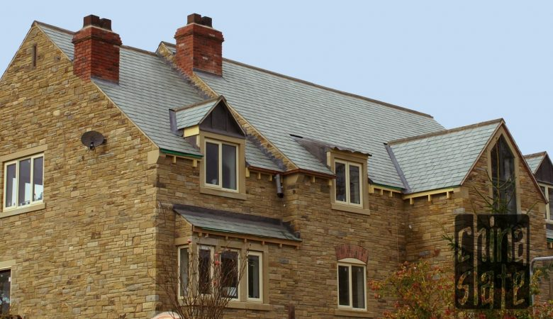 East Moorland Green slate roof