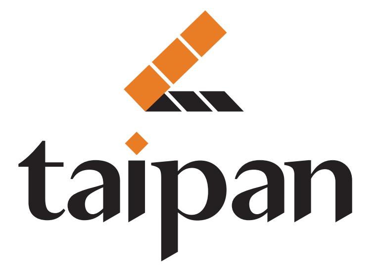 Taipan slate logo